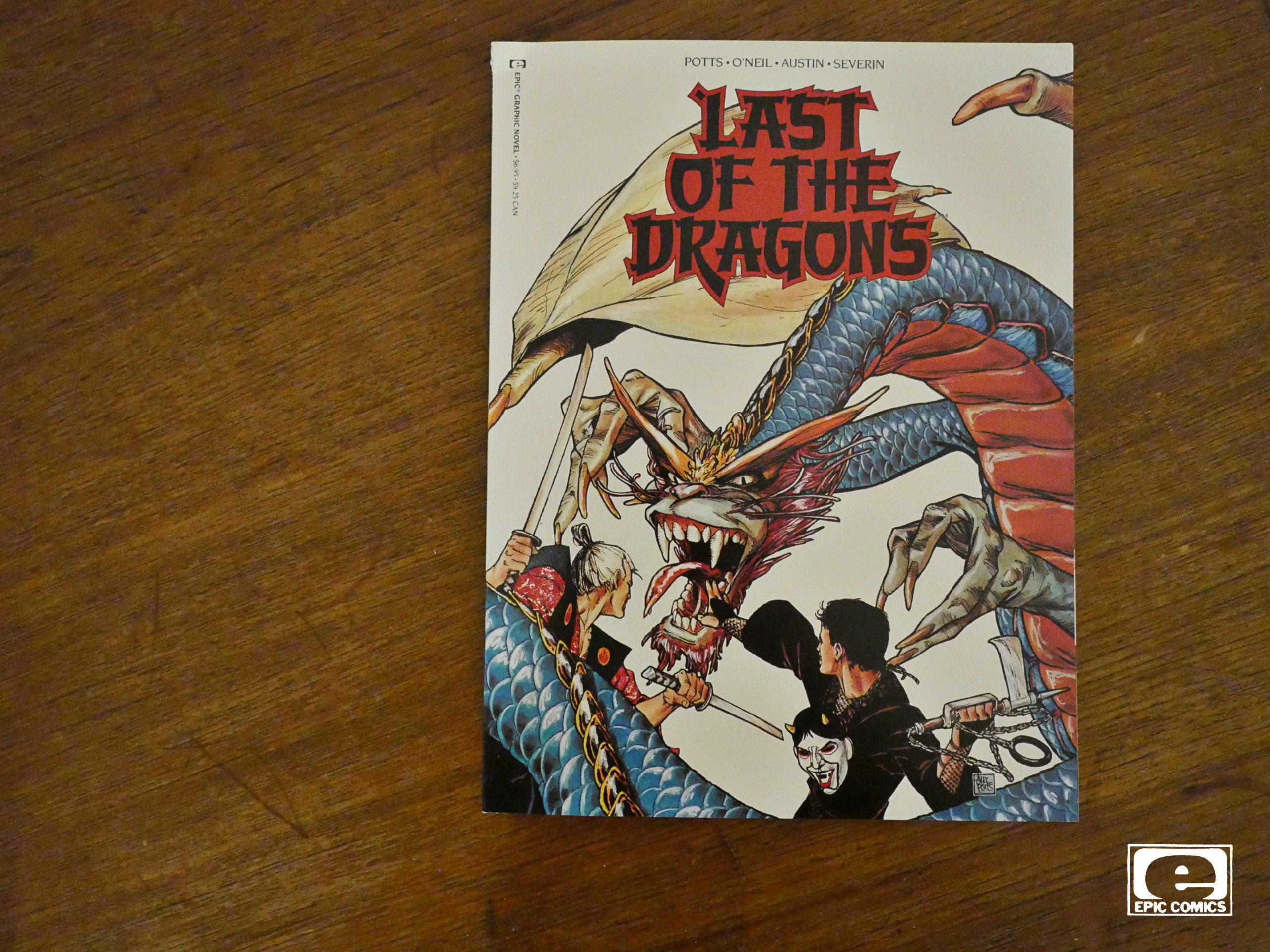 Carl Potts Last of the Dragons #1 1988 Epic Graphic Novel